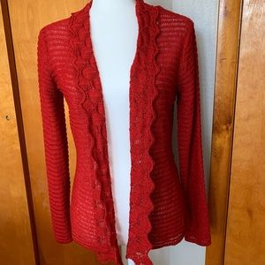 Women's United States sweaters. Size S. Cheery red